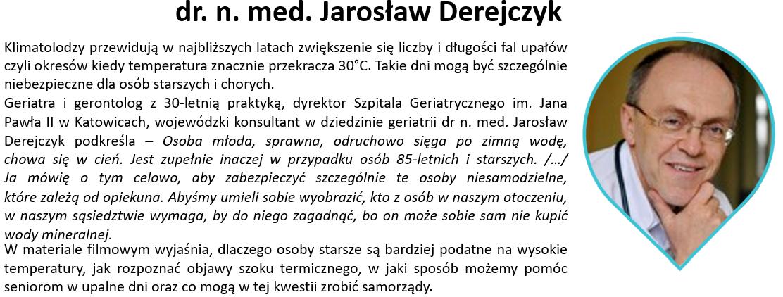 Jarosław Derejczyk13.12 - Materiały wideo