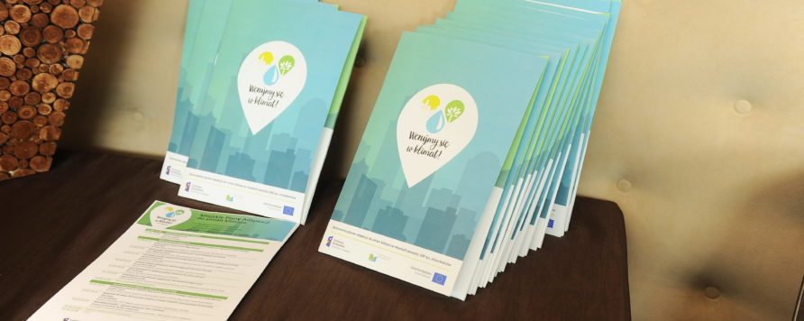 DSC 3092 892x356 - Konferencja inicjująca projekt -  44 miasta rozpoczęły opracowywanie Miejskich Planów Adaptacji