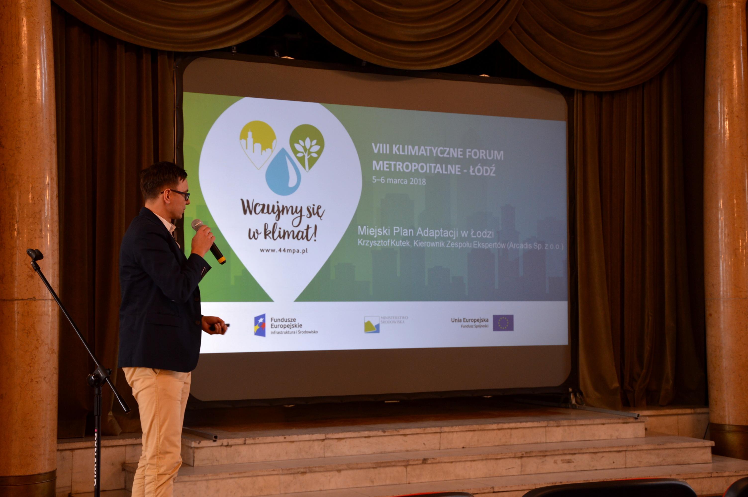 Lodz 1 - VIII Klimatyczne Forum Metropolitalne w Łodzi: zielone miasto i dobry klimat