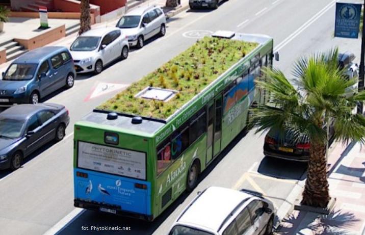 phyto - Zielone dachy… autobusów?