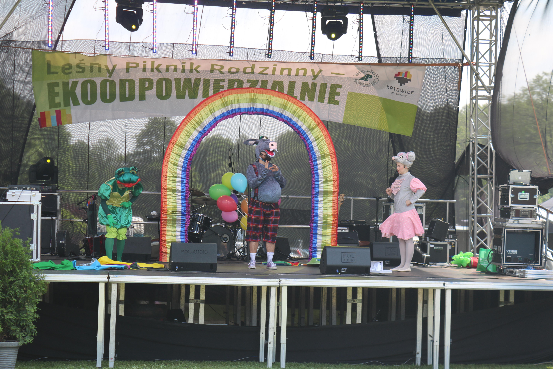 IMG 5670 - Katowicki Leśny Piknik Rodzinny 2018 – Ekoodpowiedzialni wczuwają się w klimat