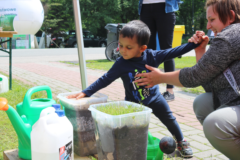 IMG 5705 - Katowicki Leśny Piknik Rodzinny 2018 – Ekoodpowiedzialni wczuwają się w klimat