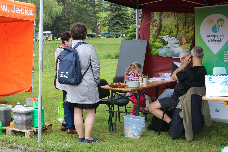 IMG 5710 - Katowicki Leśny Piknik Rodzinny 2018 – Ekoodpowiedzialni wczuwają się w klimat