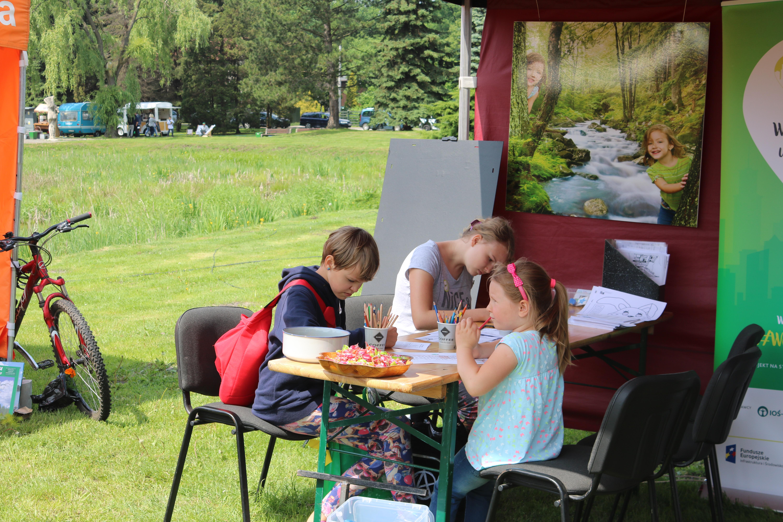IMG 5737 - Katowicki Leśny Piknik Rodzinny 2018 – Ekoodpowiedzialni wczuwają się w klimat
