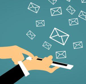 email 3543958 1920 303x295 - Informacje o zagrożeniach – możemy je otrzymać na komórkę