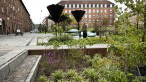 fot Tasinge Square www publicspace org 300x169 - Duńczycy budują parki, które ograniczają skutki zmian klimatu