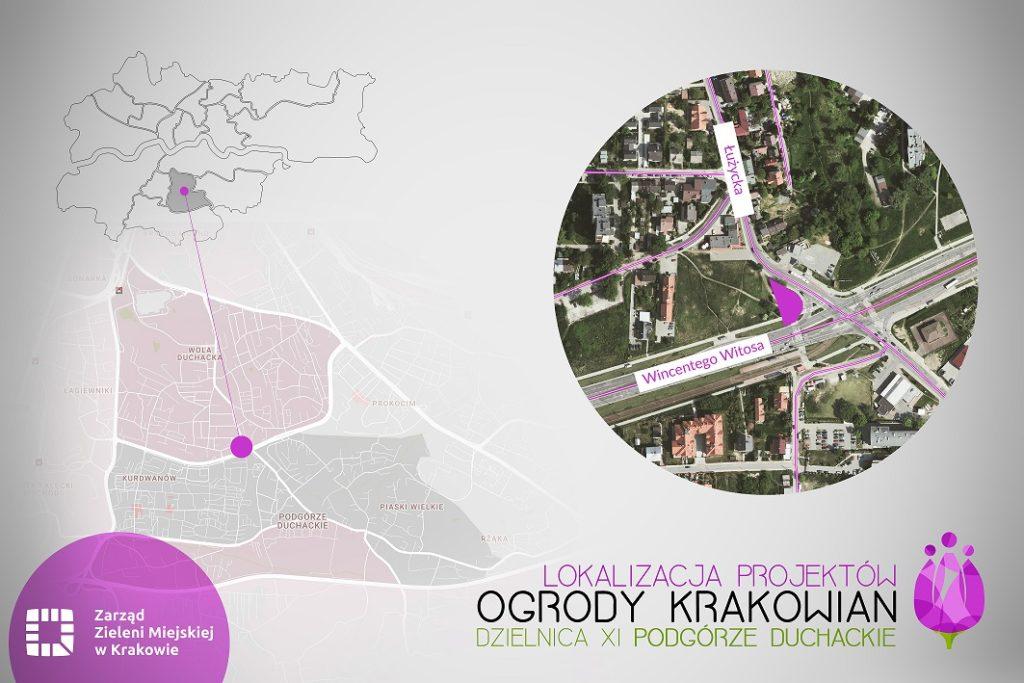 Kraków 11 Podgrze Duchackie 1024x683 - Ogrody Krakowian – park kieszonkowy w każdej dzielnicy