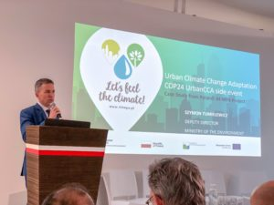 "8 300x225 - COP24: Urban Day - ""Adapting to climate change in cities"""